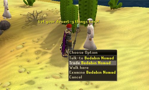 Trade Bedabin Nomad