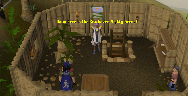 The entrance to the Brimhaven Agility Arena