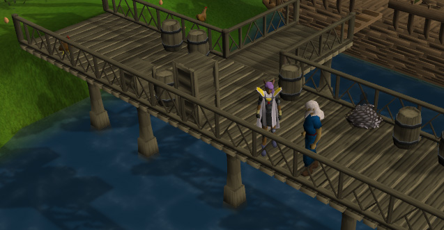 The Ardougne docks