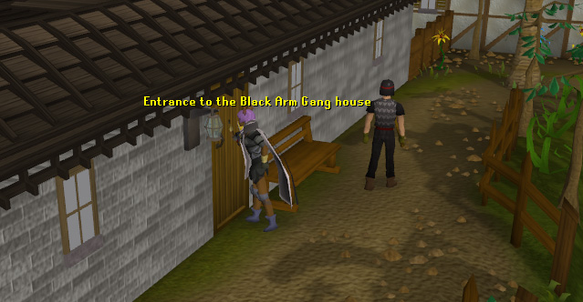 The Black Arm Gang's house