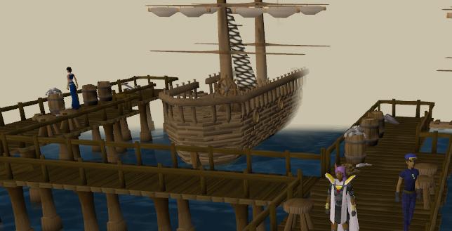 The Brimhaven docks