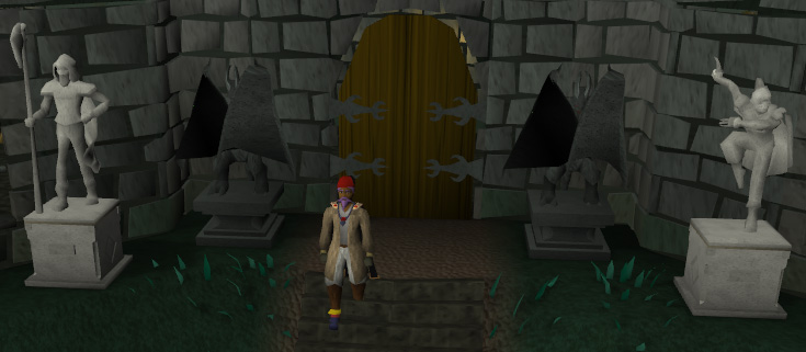 Entrance to the Canifis Slayer Tower