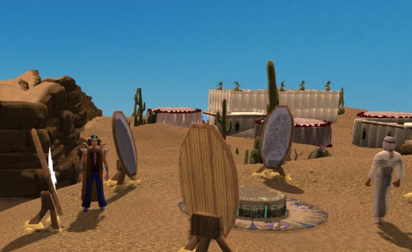 Desert Bandit Camp Desert Treasure mirrors