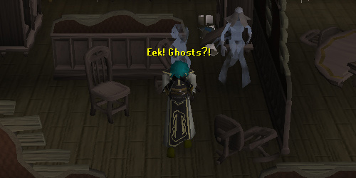 Spooky ghosts of Draynor Manor