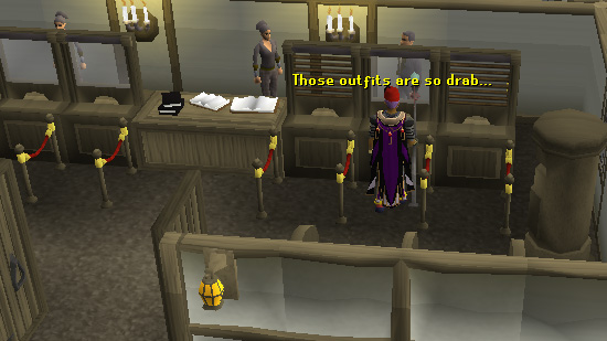 One of the two banks of East Ardougne