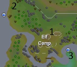Elf camp map