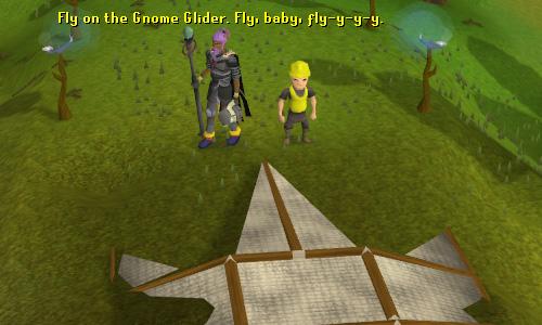The gnome glider