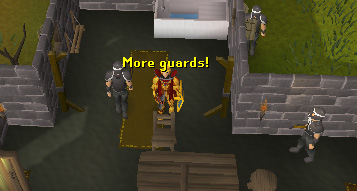 More guards are in here