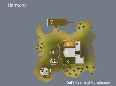 Harmony city map