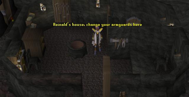 Reinald's house