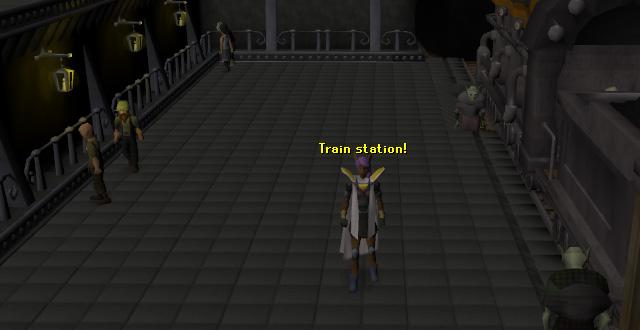 The Keldagrim train station