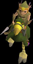 Mounted Terrorbird Gnome