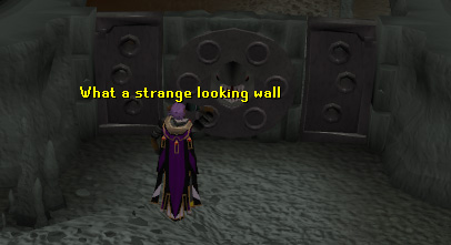There's the strange wall