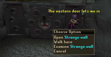 The strange wall