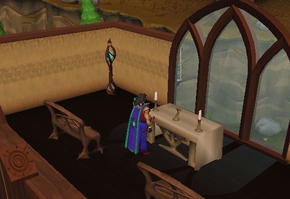A prayer altar