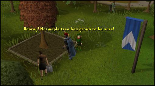 Farming tree patch