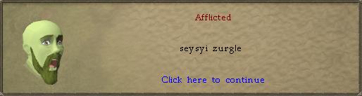 Afflicted [Razmire]: seysyi zurgle