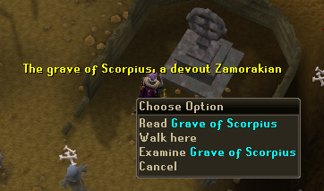 A shrine to Scorpius