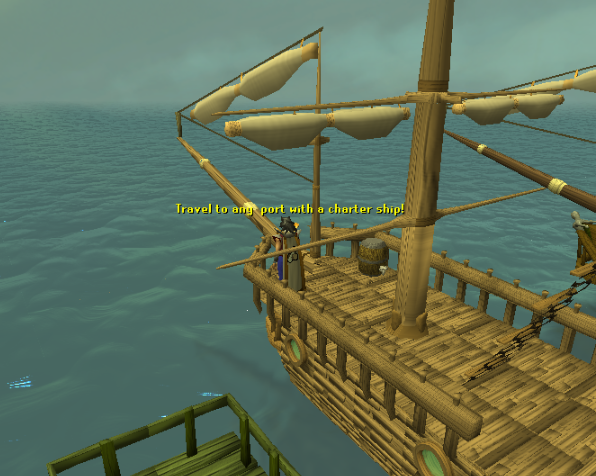 A Charter Ship