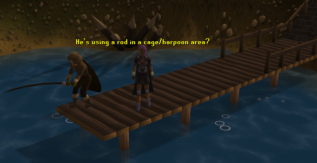 A fishing spot