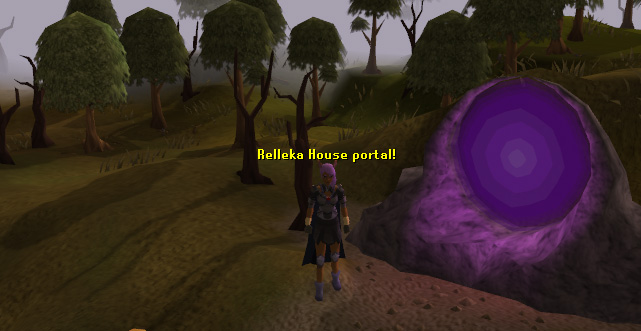 Rellekka Player Owned House portal