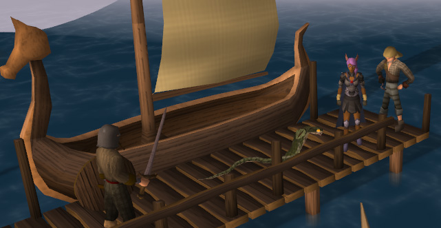 Jarvald's ship