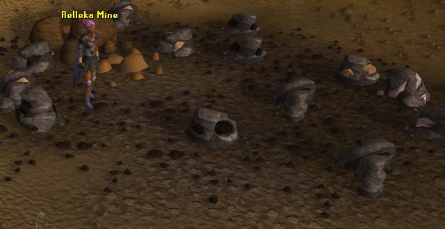 Rellekka mining area
