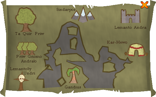 Places you can take the glider to