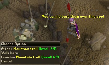 Hallying a Troll