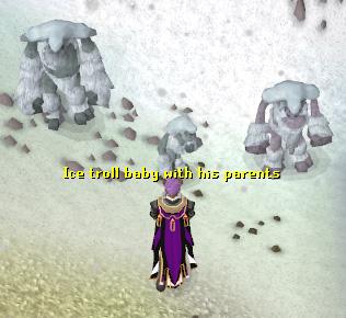 The Trollweiss Ice Gate