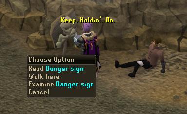 Read Danger Sign