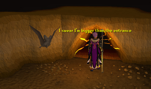 The entrance to tzhaar