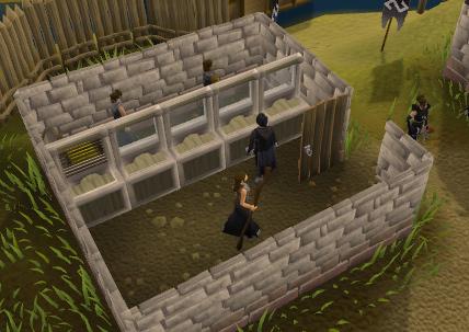 Void Knights' Outpost - Void Knights' Outpost bank