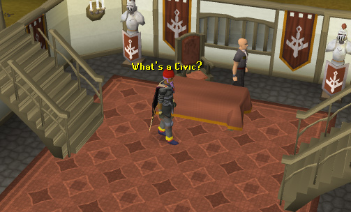 The west ardougne civics office