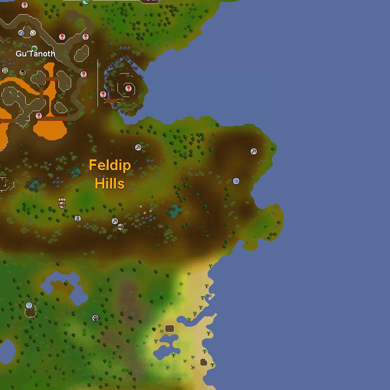 Gu'Tanoth and the Feldip Hills