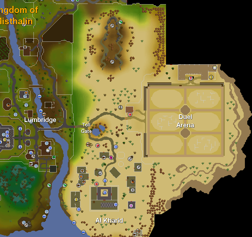 Lumbridge, Toll Gate, Al Kharid