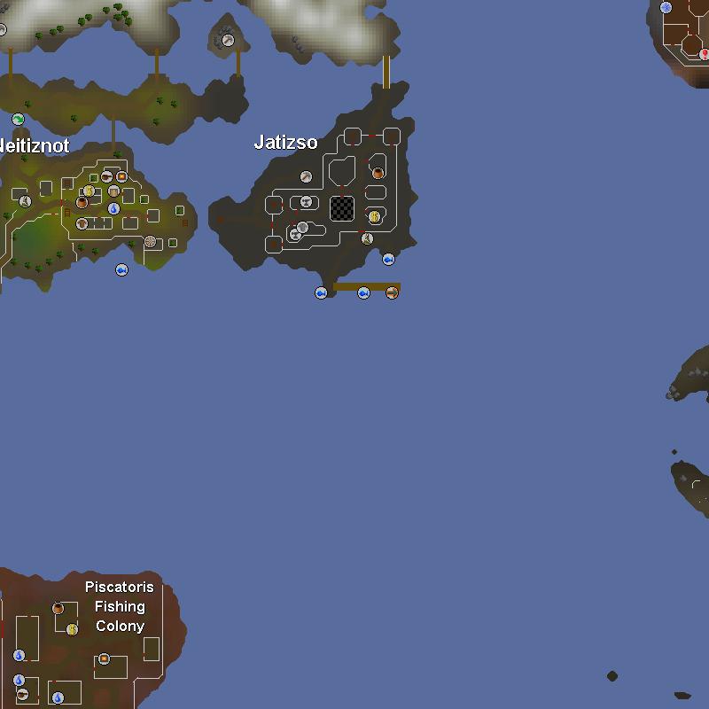 Piscatoris and Western Waterbirth Island