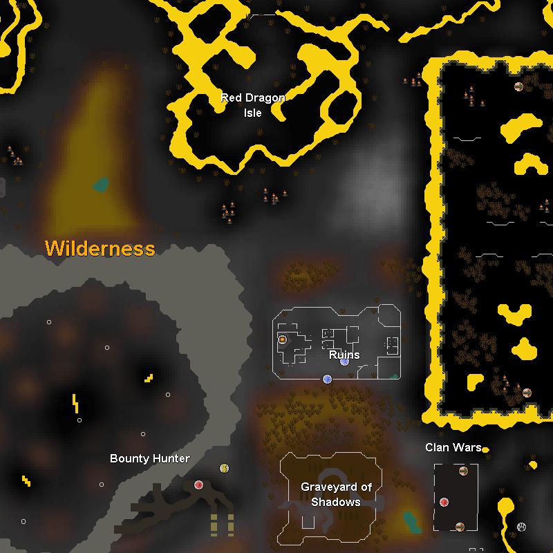 Red Dragon Isle, Ruins, Black Salamanders and the Bone Yard