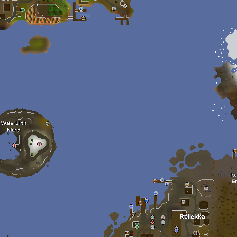 Southern Miscellania and Etceteria, Waterbirth Island and Rellekka