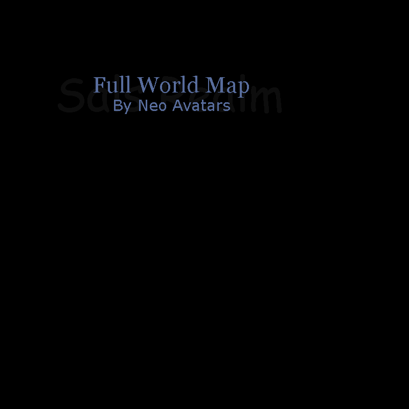 Full World Map of RuneScape | Sal\'s Realm of RuneScape