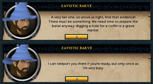 Zavistic Rarve:  A very fair one...