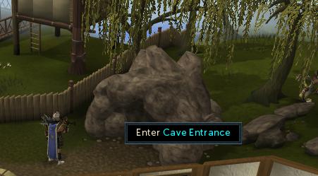 Enter Cave entrance
