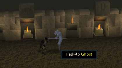 Talk to ghost