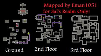 Map of Tarn's Lair