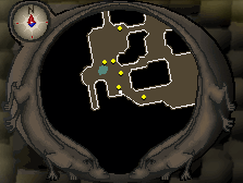 Mini-map location of chest #2