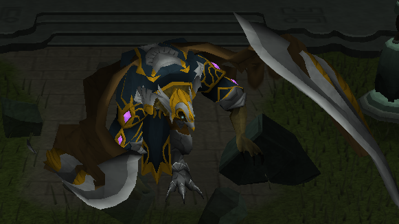 The Armadylean general Kree'arra arrives