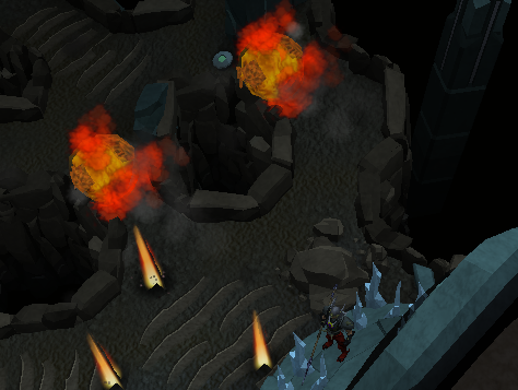 Char's fire show