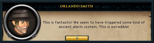 Alarm triggered
