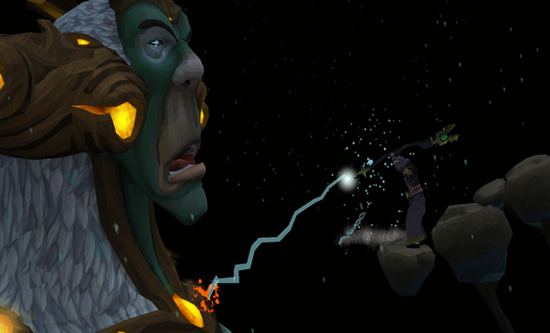 Sliske mortally wounding Guthix