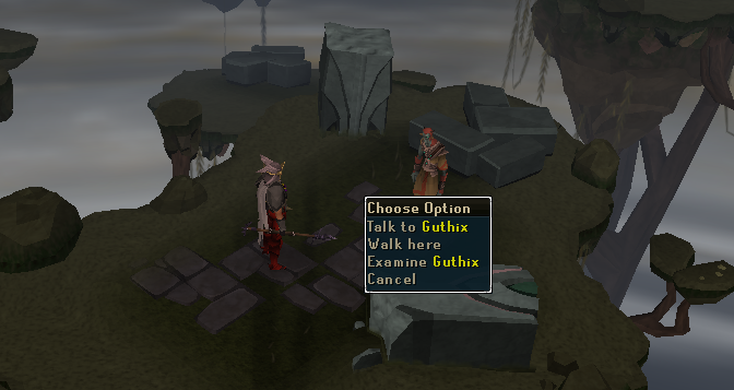 Talk to Guthix